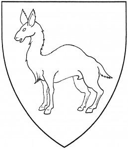 Allocamelus statant (Period)