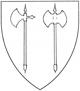 Battle-axe (Period); double-axe (Acceptable)