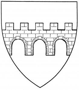 Bridge throughout of three spans (Period)