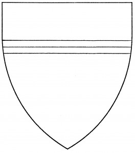 Chief surmounted by a fillet counterchanged (Accepted)