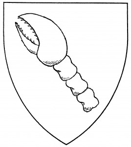 Crab's claw bendwise (Period)