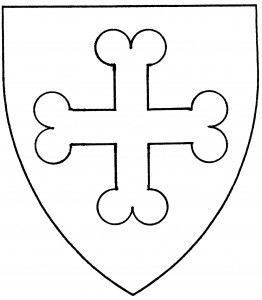Cross doubly pommeled (Period)