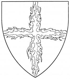 Cross of flames (Disallowed)