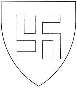 Fylfot, or cross gammadion (Disallowed)