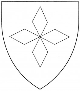 Cross of four lozenges (Accepted)