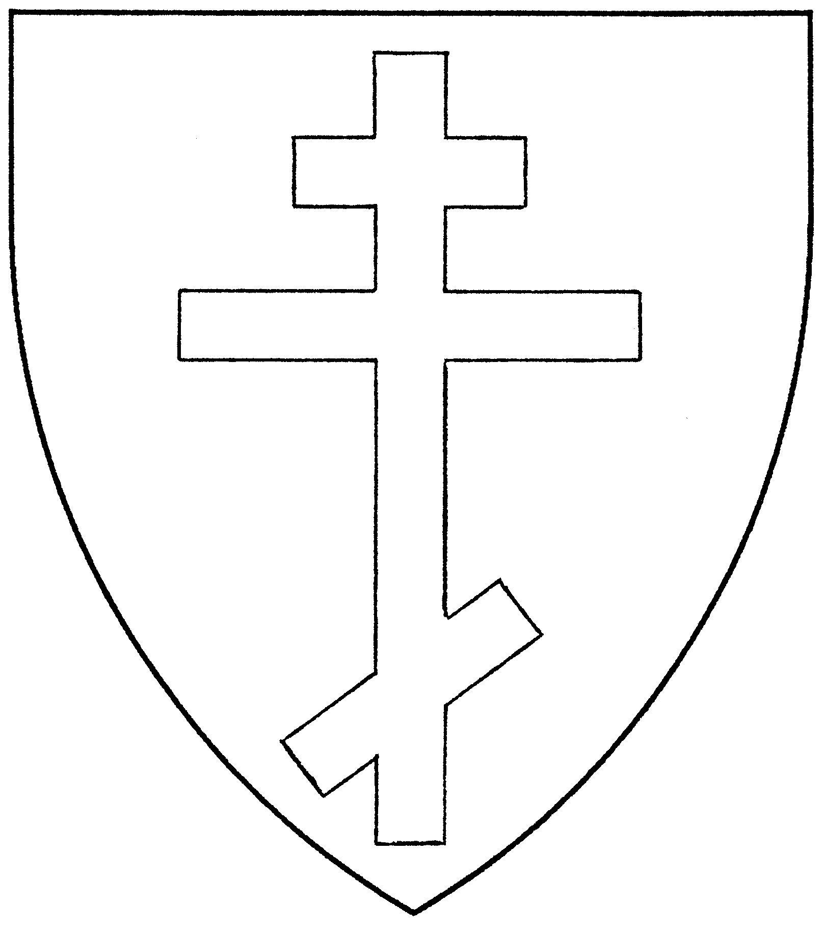 Cross Russian Orthodox Mistholme