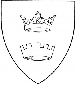 Ducal coronet (Period/Reserved), comital coronet (Accepted/Reserved)