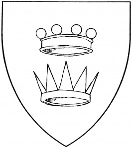 Pearled coronet (Period/Reserved), eastern (or antique) crown (Period/Reserved)