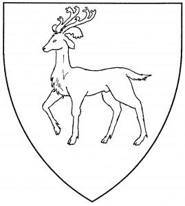 Reindeer passant (Period)