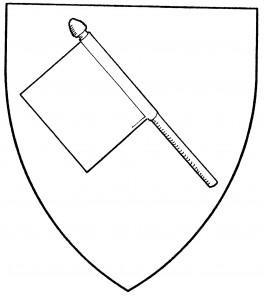 Banner bendwise (Period)