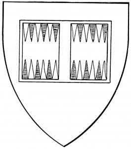 Backgammon board (Period)