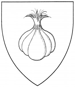 Bulb of garlic (Period)