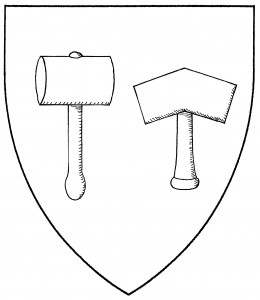 Two forms of mallet (both Period)