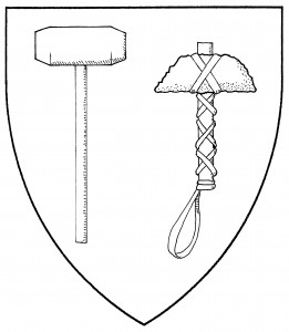 Sledgehammer (Accepted); stone throwing hammer (Accepted)
