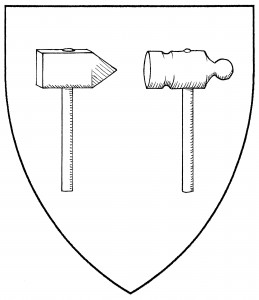 Smith's hammer (Accepted); ball-peen hammer (Accepted)
