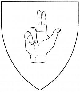 Hand of benediction (Period)