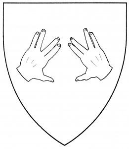 Pair of hands in birkat kohanim (Period)