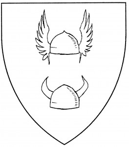 Winged helm affronty (Accepted); horned helm affronty (Accepted)