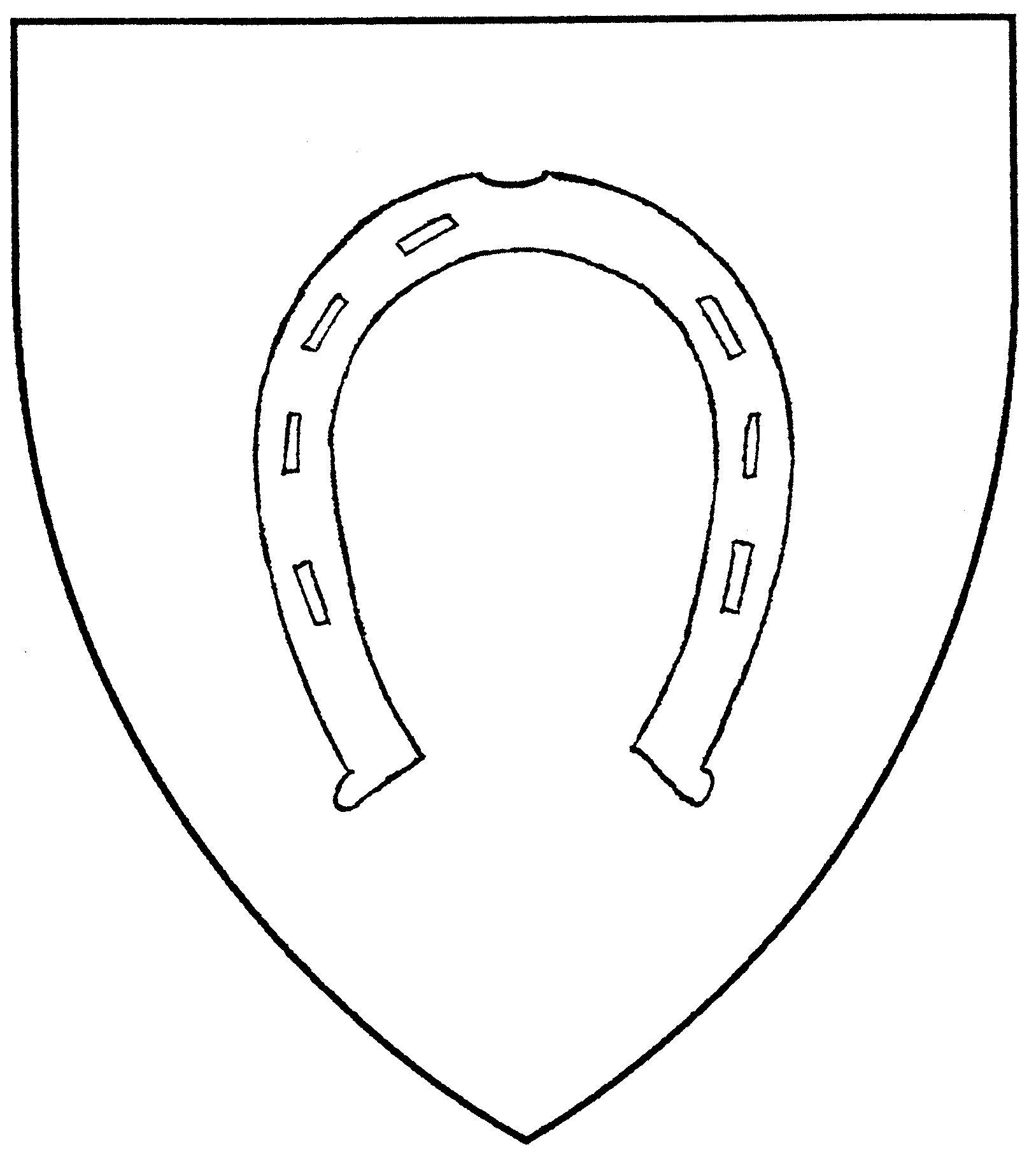 horseshoe drawing - photo #24
