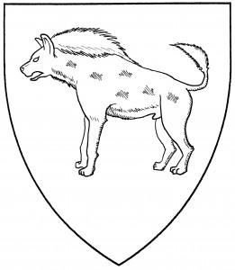 Hyena statant (Period)