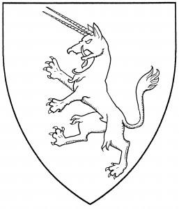 Ibex rampant (Period)