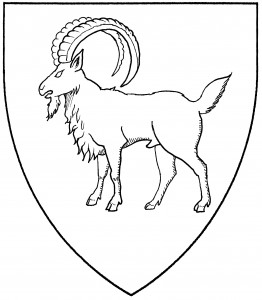 Natural ibex statant (Period)