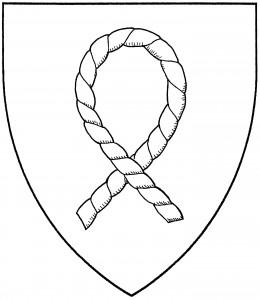 Loop of rope with ends crossed (Period)