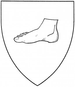 Foot couped (Period)