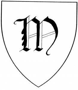 "Gothic capital letter ""M"" (Period)"