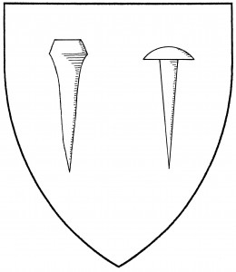 Horseshoe nail (Accepted); closing nail (Period)