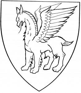 Opinicus statant (Period)