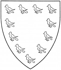 Orle of martlets (Period)