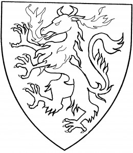 Continental panther rampant (Period)