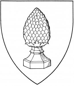 Cedar cone potted (Period)