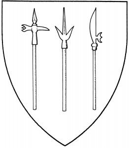 Bec de corbin (Accepted); corsica (Accepted); fauchard (Accepted)