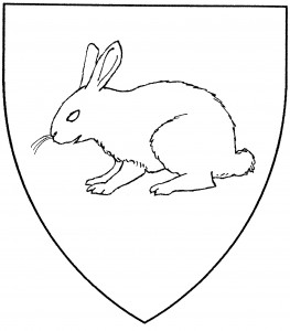 Rabbit statant (Period)