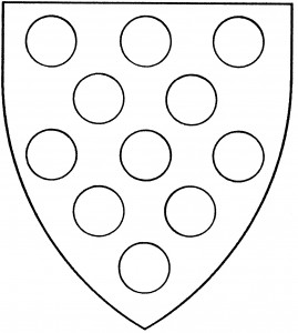 Semy of roundels (Period)