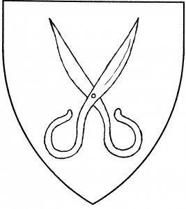 Pair of scissors (Period)