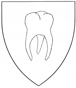Molar, or fanged tooth (Period)