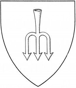 Salmon-spear, or eel-spear (Period)