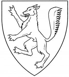 Wolf rampant (Period)