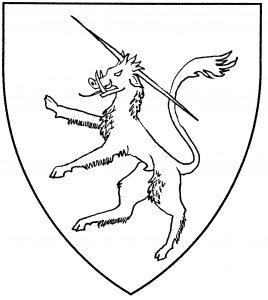 Bedford yale rampant (Period)